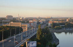 Panoramic view of Kaliningrad