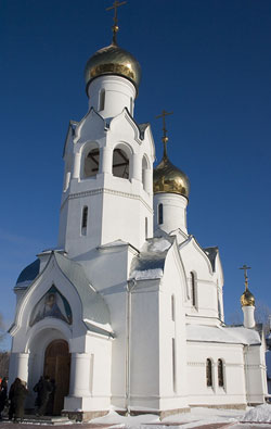 The Church of Archangel Mikhail
