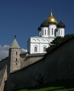 The first temple built during the Princess Olga