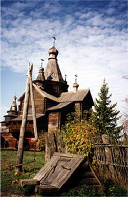 "MUSEUM OF WOODEN ARCHITECTURE ""VITOSLAVLITSY"""